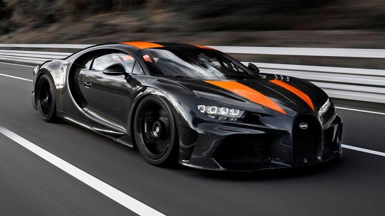 Bugatti Chiron 300+ 304 mph tốc độ tối đa kỷ lục thế giới