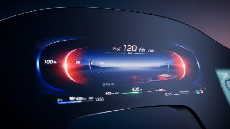 Kích thước màn hình Cuộc chiến bắt đầu: Mercedes-Benz giới thiệu Hệ thống thông tin giải trí siêu màn hình 56 inch EQS MBUX độc đáo