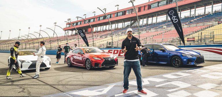 """Lexus """"0 đến 60"""" Sê-ri đua xe nổi tiếng: Đuốc-đuốc mùa 4 Auto Club Speedway"""