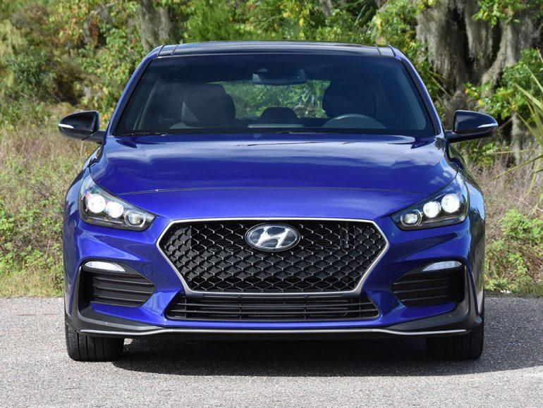 Hyundai elantra gt n dòng trước 2019