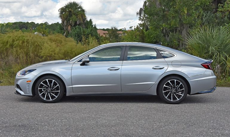 Đánh giá & Lái thử Hyundai Sonata 2021 Limited - Biểu đồ những điểm nổi bật của Trim