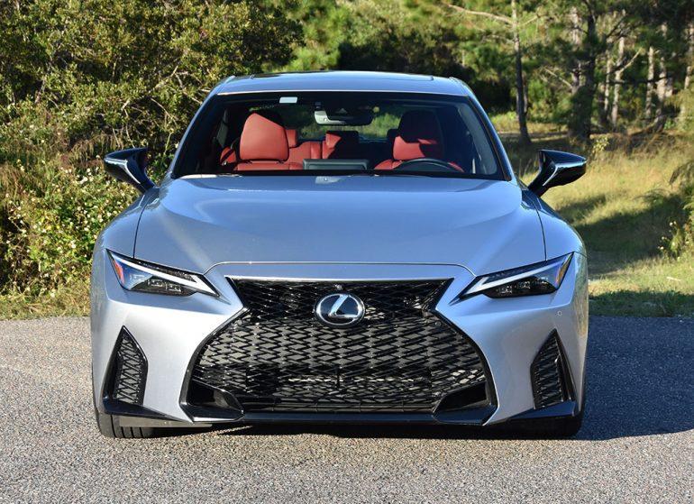 Lexus 2021 là 350 f sport front