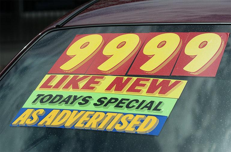 Giá ô tô đã qua sử dụng sau đại dịch