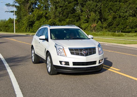 Cadillac SRX 2012 nhận được động cơ 3,6 lít 300HP và nhiều tính năng hơn