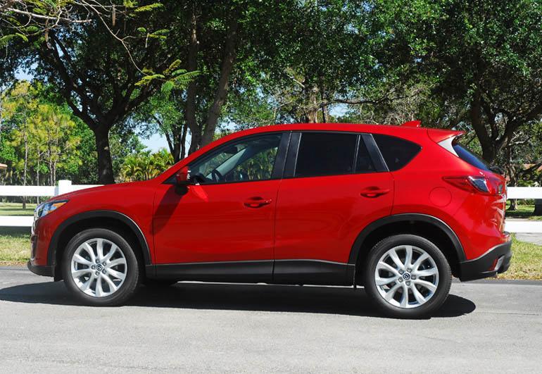 Mazda CX5 2014 Vẻ đẹp bên LA Hoàn thành Nhỏ