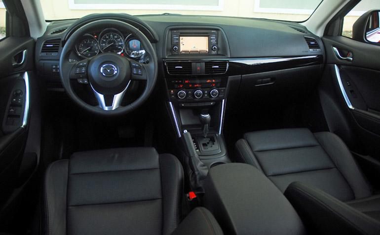 Bảng điều khiển Mazda CX5 2014 nhỏ