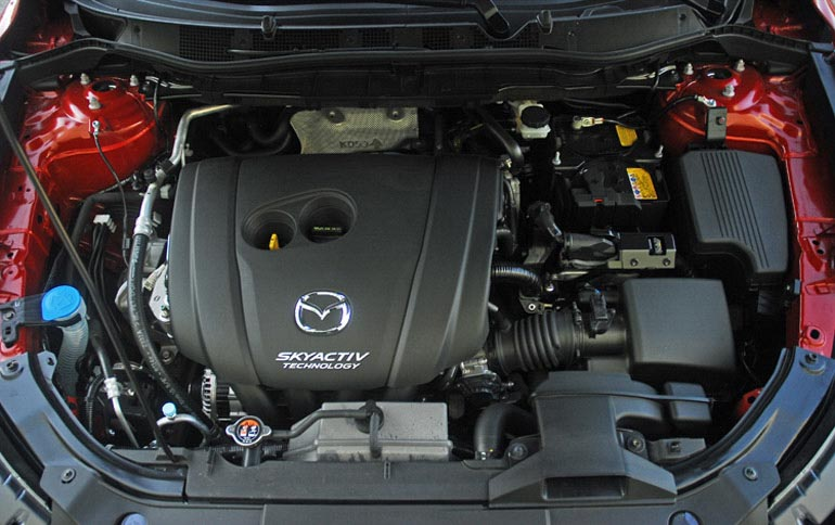 Động cơ Mazda CX5 2014 nhỏ