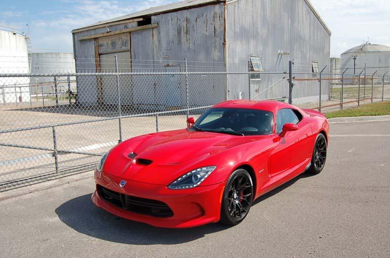 2014 SRT Viper GTS Coupe