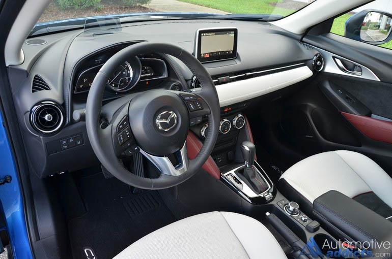 2016-Mazda-CX-3-bảng điều khiển grand-touring-