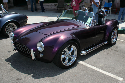 1965 Shelby Cobra bản sao - màu tím - fvl