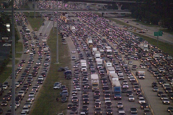Nghiên cứu: Người lái xe nam căng thẳng hơn về giao thông