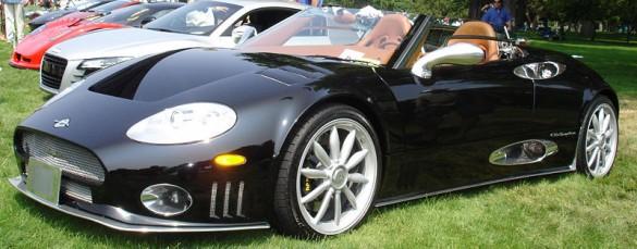 Spyker bán xe kinh doanh hạng sang
