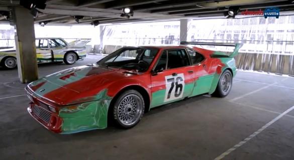 Tìm hiểu sơ lược về bộ sưu tập xe nghệ thuật của BMW: Video