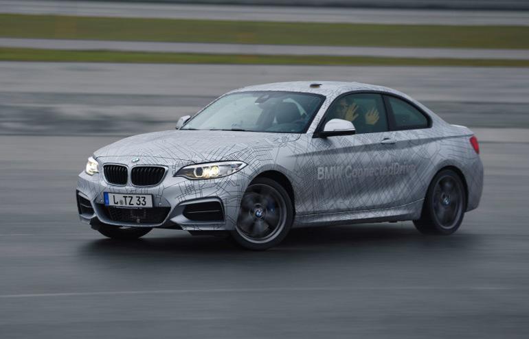 BMW-CES-lái xe tự động