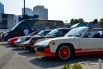 Những người nghiện ô tô Xe hơi và quán cà phê bán tại vỉa cho sự kiện tháng 7 năm 2015 - Báo cáo và hình ảnh