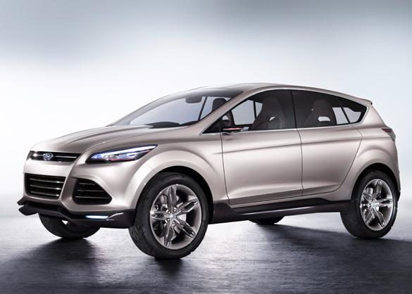 Ý tưởng Vertrek của Ford là tương lai của những chiếc SUV nhỏ gọn