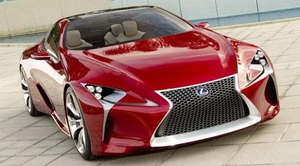 Hình ảnh chính thức mới về ý tưởng xe thể thao Lexus LF-LC được tiết lộ trước Triển lãm ô tô Detroit