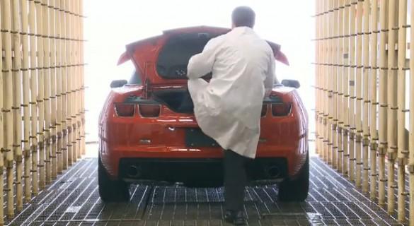 Vậy Chevy kiểm tra Camaro Convertible Top như thế nào?