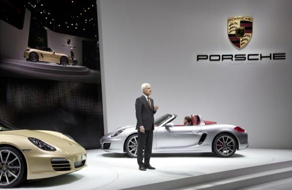 Porsche ra mắt Boxster hoàn toàn mới tại Geneva Motor Show