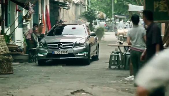 Video: C-Class Coupe nổi bật trong phim Mercedes-Benz Drive & Seek đóng gói hành động