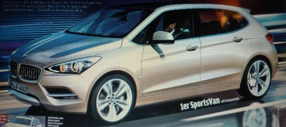 Dòng sản phẩm 1 dẫn động cầu trước của BMW sẽ ra mắt tại Paris Auto Show
