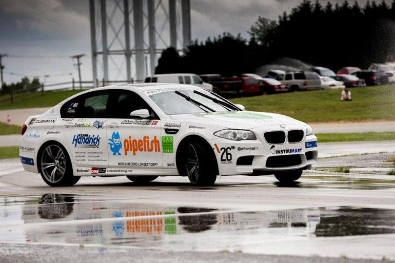 bmw-m5-performance-Driving-school-drift-record-1