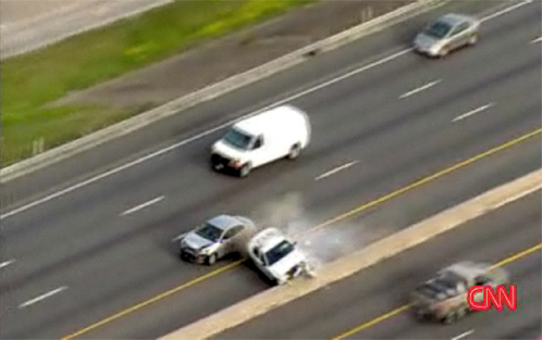 high-speed-chase-police-car-flips-over
