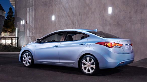 Triển lãm ô tô Detroit 2012: Hyundai Elantra 2012 đăng quang Chiếc xe của năm ở Bắc Mỹ