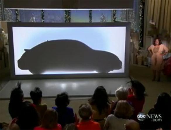 Oprah giới thiệu và cho đi 2012 VW Beetle trên tập thứ 2 'Những điều yêu thích'